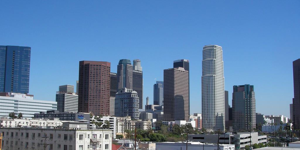 downtown LA day